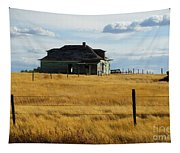 Abandoned Homestead Saskatchewan Tapestry