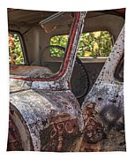 Abandoned Old Truck Newport New Hampshire Tapestry
