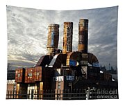 Abandoned Power Plant Tapestry