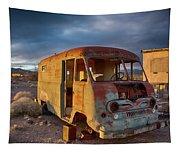 Abandoned Van Tapestry