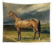 Abdul Medschid The Chestnut Arab Horse Tapestry