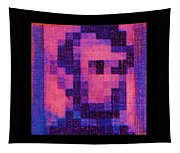 Abe In Hot Pink  Tapestry