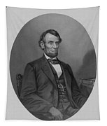 Abraham Lincoln Tapestry by War Is Hell Store