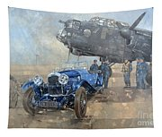 Able Mable And The Blue Lagonda  Tapestry