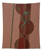 Aboriginal Lizard Tapestry