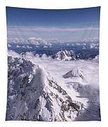 Above Denali Tapestry by Chad Dutson