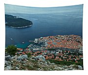 Above Dubrovnik - Croatia Tapestry
