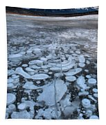 Abraham Lake Ice Bubbles Tapestry