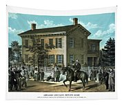 Abraham Lincoln's Return Home Tapestry