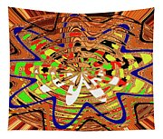 Abstract #1859drawpc Tapestry