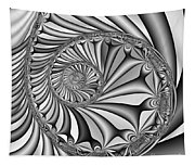 Abstract 527 Bw Tapestry