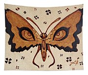 Abstract Butterfly Coffee Painting Tapestry