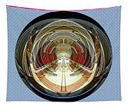 Abstract Classic Car Tapestry
