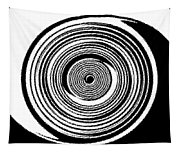 Abstract Clock Spring Tapestry