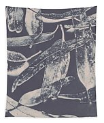 Abstract Design Tree Leaves Background Tapestry