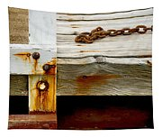 Abstract Dock Tapestry