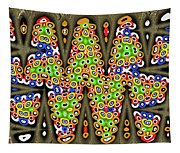 Abstract Drawing Panel Tapestry
