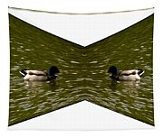 Abstract Ducks Tapestry