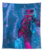 Abstract Fish Tapestry