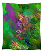Abstract Floral Fantasy 071912 Tapestry