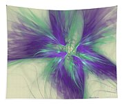 Abstract Flower Sway Tapestry