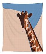 Abstract Giraffe Tapestry