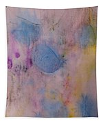 Abstract In Red, Blue, And Yellow Tapestry