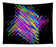 Abstract Lines Tapestry