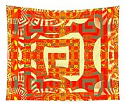 Abstract Maze Tapestry