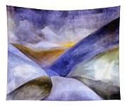 Abstract Mountain Landscape Tapestry