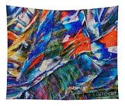 abstract mountains II Tapestry