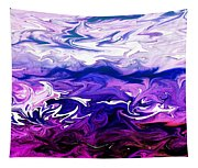 Abstract Ocean Fantasy One Tapestry