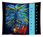 Abstract Pineapple Tapestry