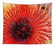 Abstract Poppy Tapestry