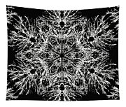 Abstract Snowfalke Tapestry