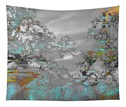 Abstract Tree Art 1 Tapestry