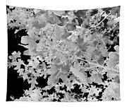 Abstract Tree Landscape Dark Botanical Art Black Noir Tapestry
