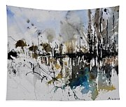 Abstract Watercolor 012130 Tapestry