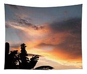 Abuja Sunset Tapestry