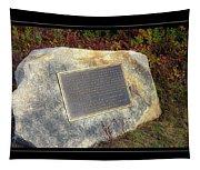Acadia National Park Centennial Plaque Tapestry