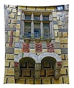 Achitecture Of The Little Castle Within Cesky Krumlov In The Czech Republic Tapestry