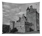 Ackergill Tower 1119 Bw Tapestry