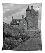 Ackergill Tower 1173 Bw  Tapestry
