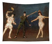 Acrobats Tapestry