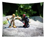 Action Figures Tapestry
