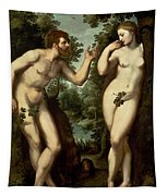 Adam And Eve Tapestry