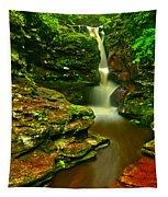 Adams Falls Portrait Tapestry