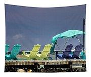 Adirondack Chairs At Coyaba Mahoe Bay Jamaica. Tapestry