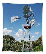 Aeromotor Windmill Tapestry