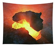 Africa Conceptual Design Tapestry